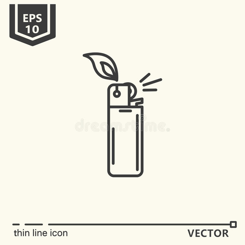 Free One Icon - Lighter Royalty Free Stock Image - 95420226