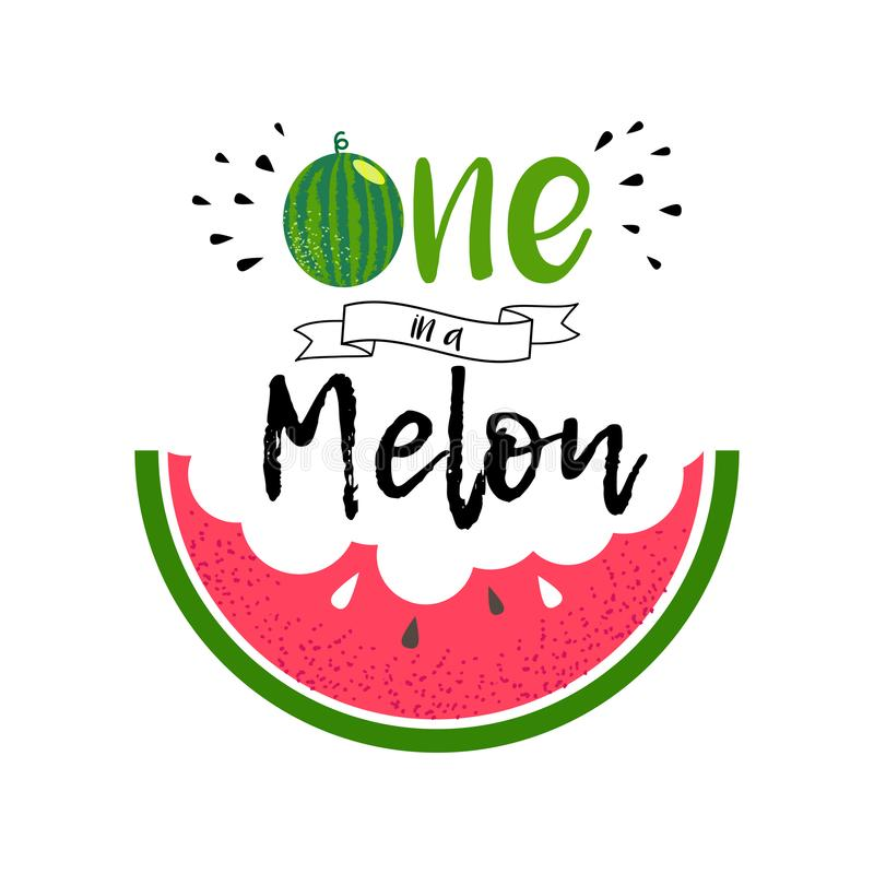 Free One In A Melon Girl Stock Images - 122063754
