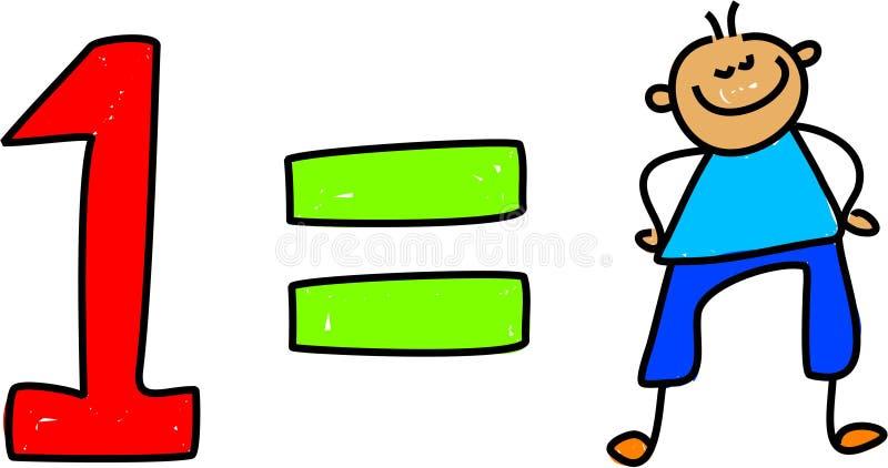 Download One kid stock illustration. Image of child, nursery, toddler - 1096906