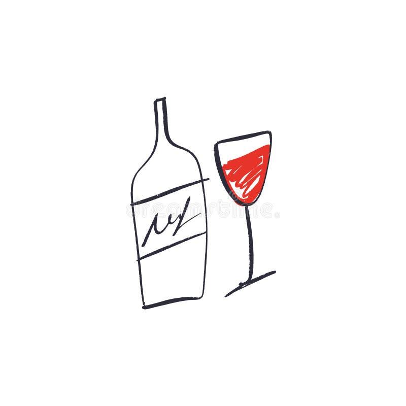 Line Art Wine Bottle Stock Illustrations 5,168 Line Art
