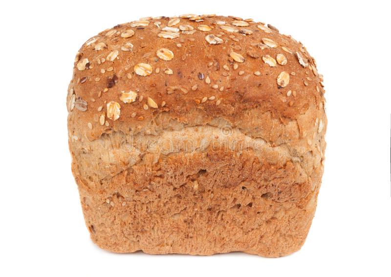 One loaf of cereals bread royalty free stock photo