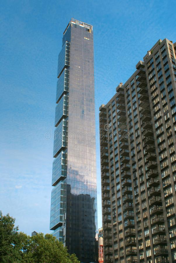 One Madison residential tower in New York City stock photos