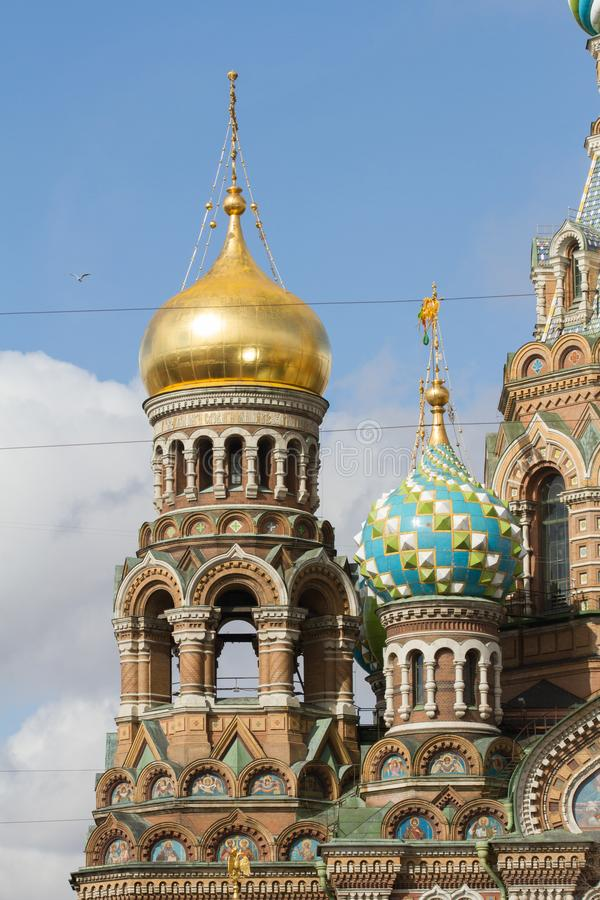 The Church of the Savior on Spilled Blood royalty free stock photos