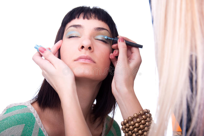 Download One  Makeup Section Stock Images - Image: 11765714