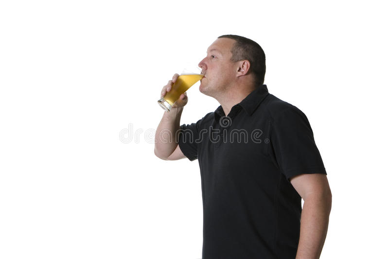 Download One Man With Beer Stock Photography - Image: 15419202