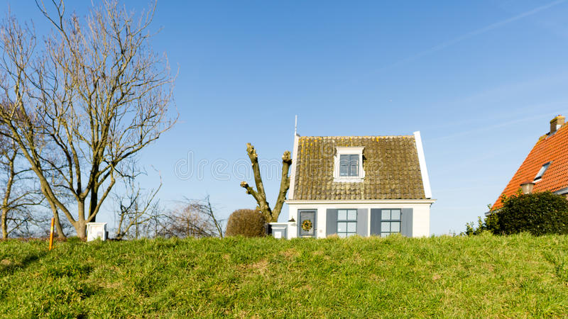 One of many houses in Durgerdam stock photo