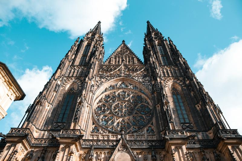 St. Vitus Cathedral stock images