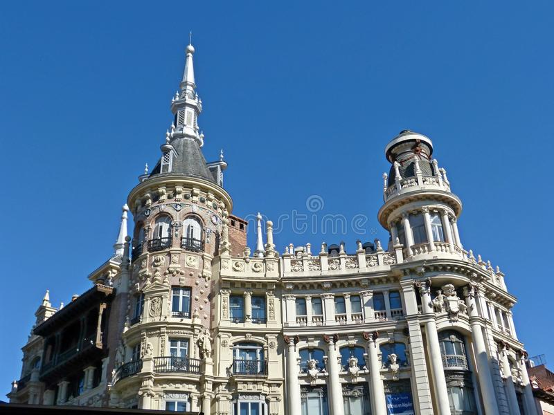 A building at the old continent europe royalty free stock images