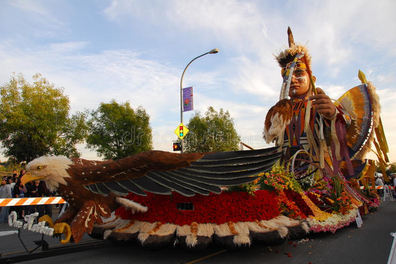 Download One Nation Float Tournament Of Rose  Parade Editorial Photo - Image: 17731296