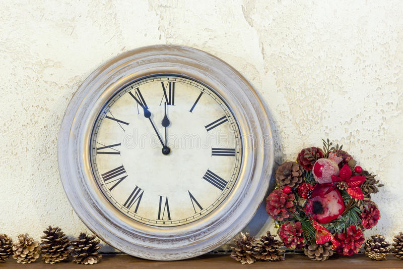 Download About One New Year There Were Only Five Minutes Stock Image - Image: 28950279