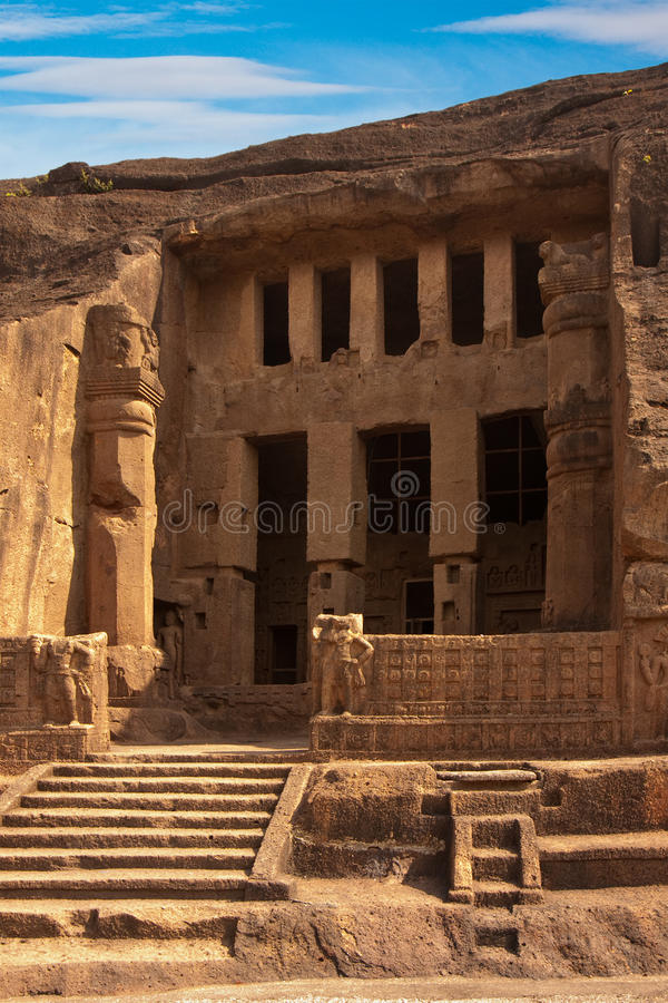 Free One Of The Kanheri Caves Royalty Free Stock Photography - 14338597