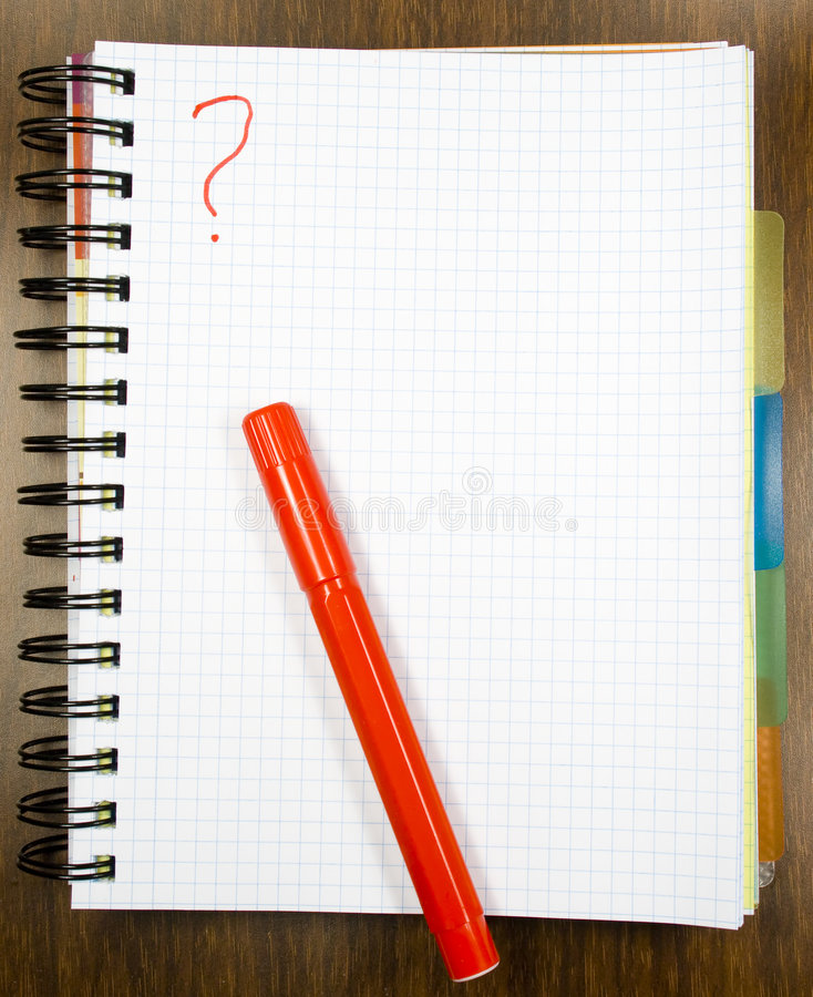 Download One open notebook stock photo. Image of pencil, pattern - 8154322