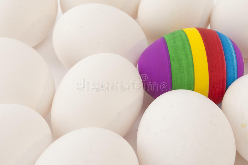 Download One Painted Easter Egg Stock Photos - Image: 13590353