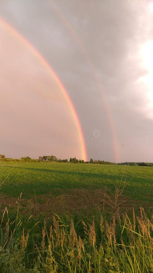 One part of the rainbow stock images