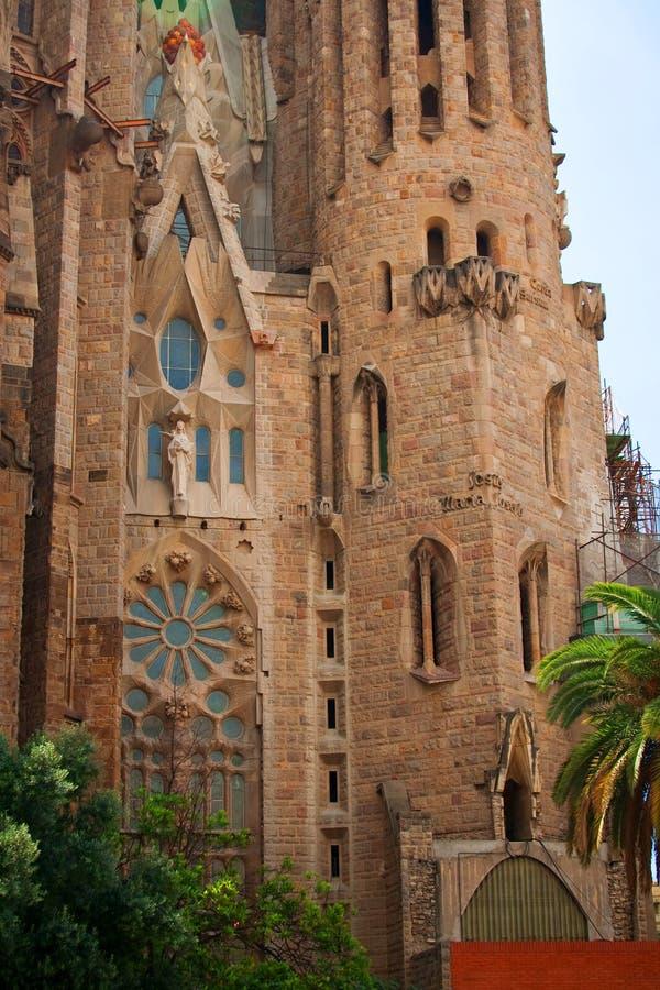 One part of Sagrada Familia