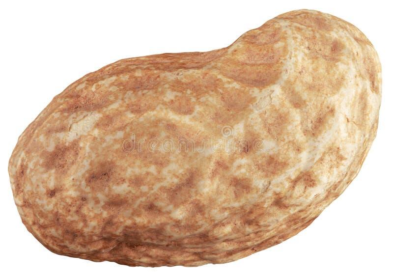 One Peanut Cutout stock photos