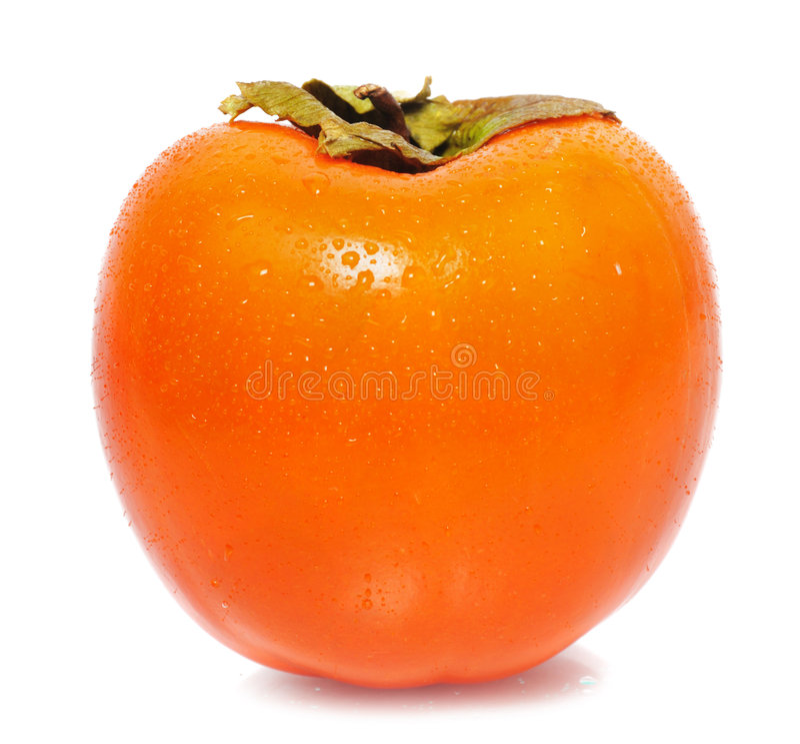 Download One persimmon stock photo. Image of fresh, kaki, nutrition - 7827494