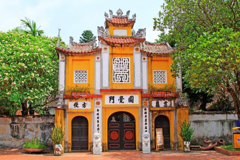 One Pillar Pagoda, Hanoi Vietnam stock photo