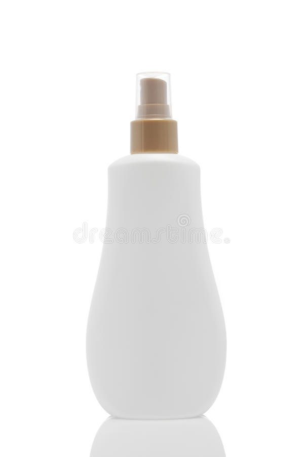 Download One Plastic Bottle With Spray Stock Photo - Image: 15017144
