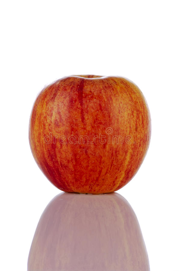 Download One Red Apple Royalty Free Stock Images - Image: 12521829