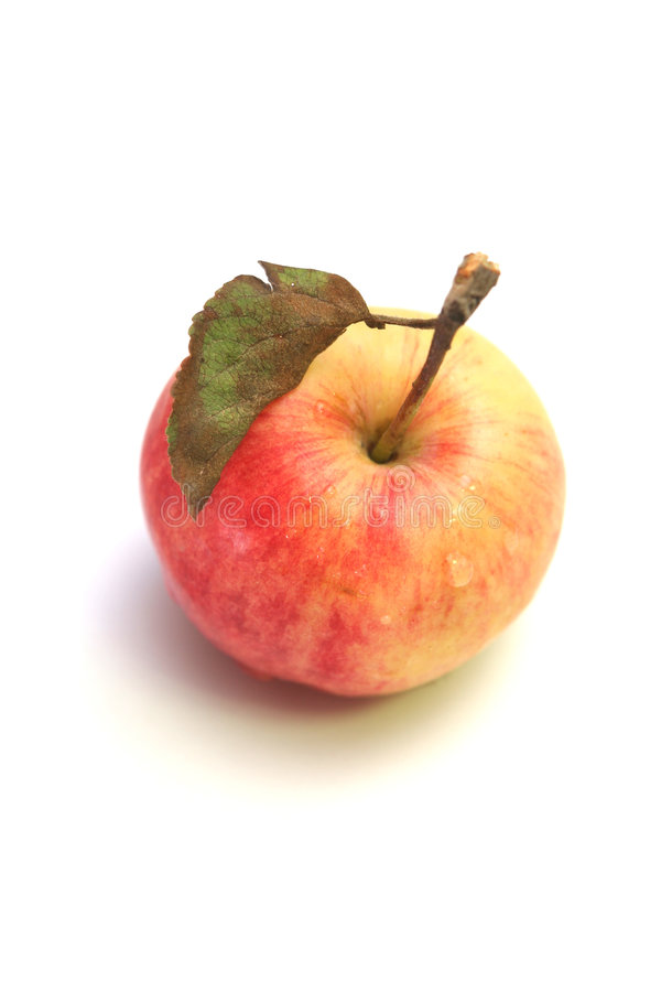 Free One Red Apple Stock Image - 3212441