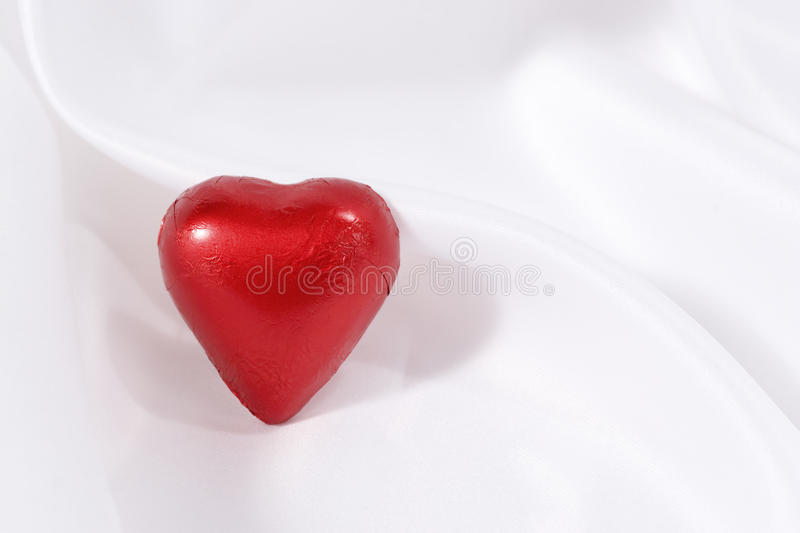 One Red Heart Royalty Free Stock Photo