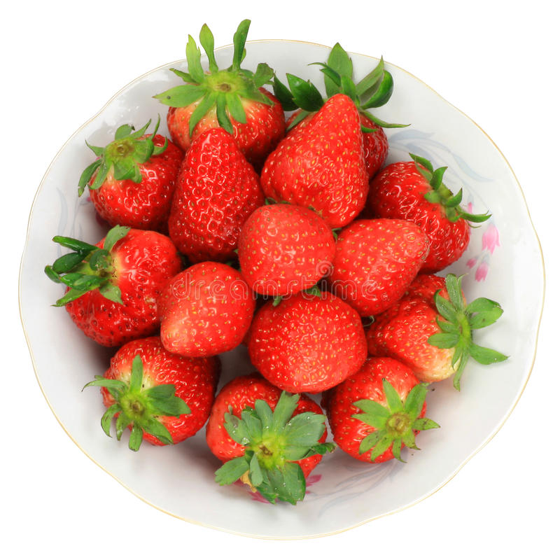 One Red Strawberry Royalty Free Stock Photos
