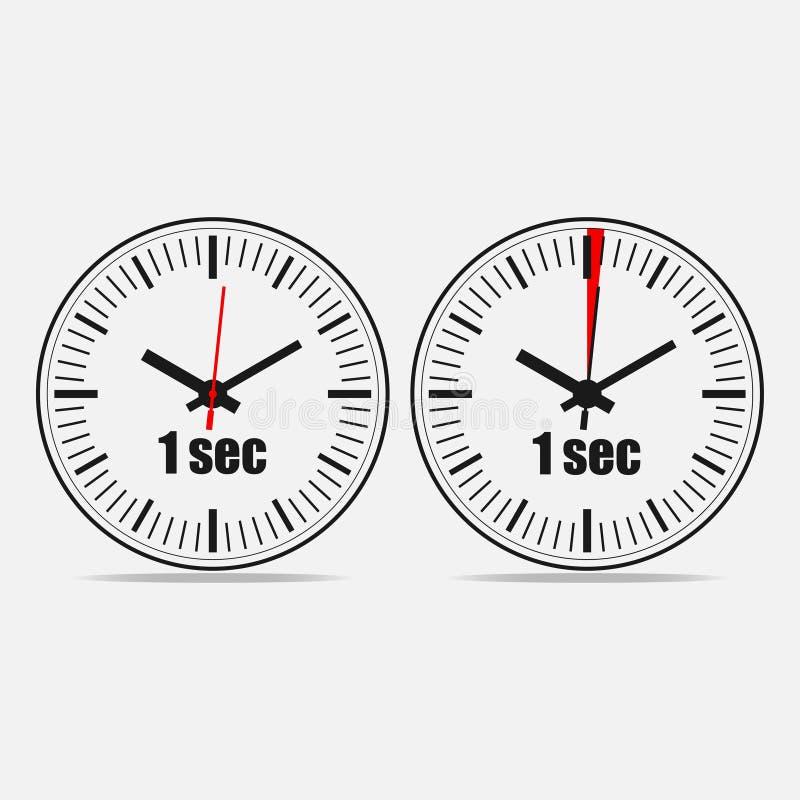 Free One Second Clock Stock Photo - 117060680