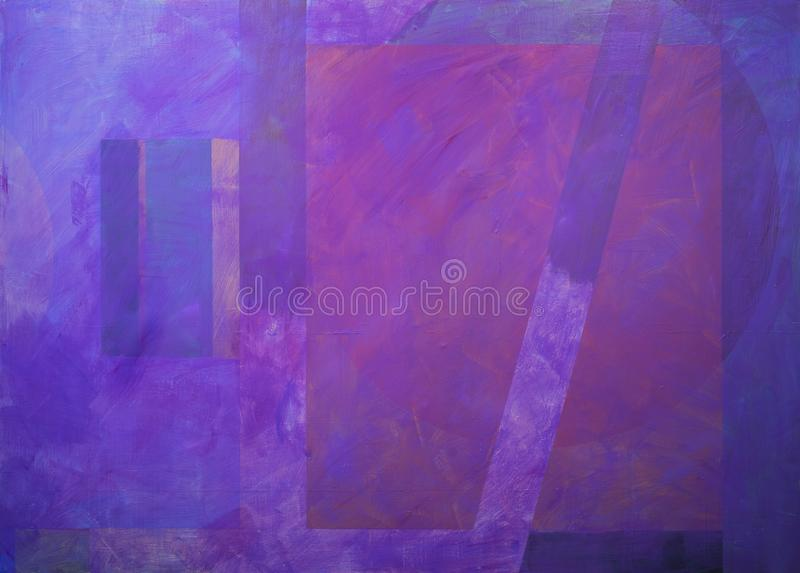 One of a series of geometric abstract paintings; each evolving from the previous painting.  This is number 13 in the series. This image is one of a series of vector illustration