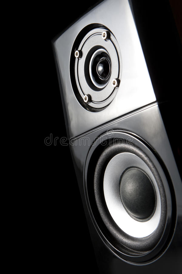 Download One Speaker, From Front To Light Up. Stock Photo - Image: 25793548