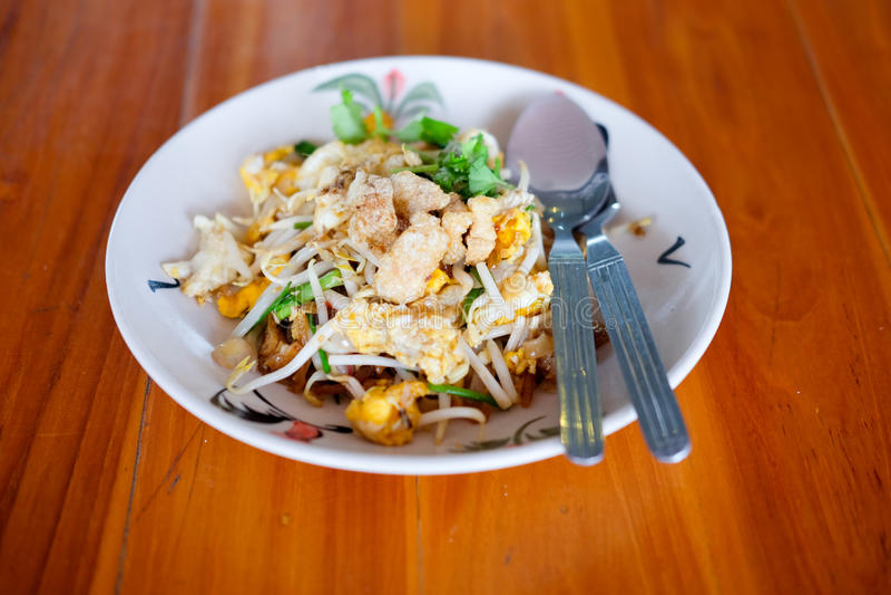 The one of Thailand`s national main dish PAT-THAI. Vegetarian. The one of Thailand`s national main dish PAT-THAI stock photos