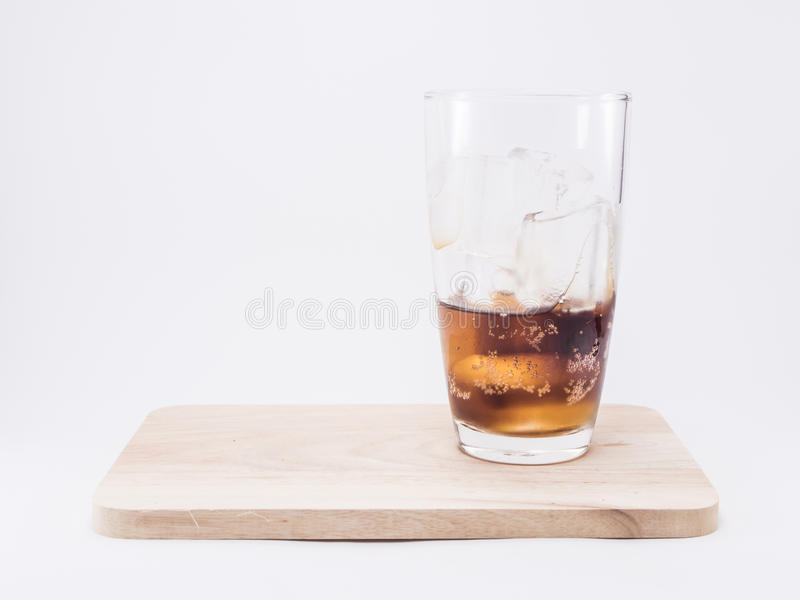 One of thirds soft drink is cool royalty free stock images