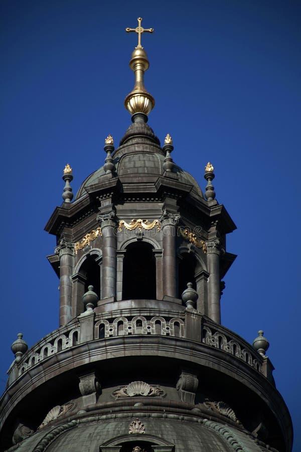 Tower of St. Stephen Basilica, Budapest, Hungary