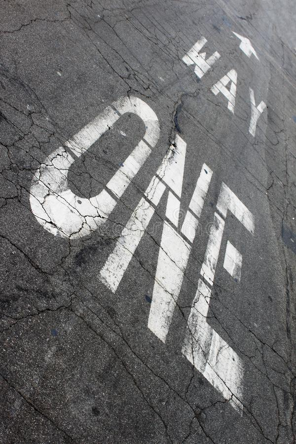 Free One Way Stock Photography - 10227172