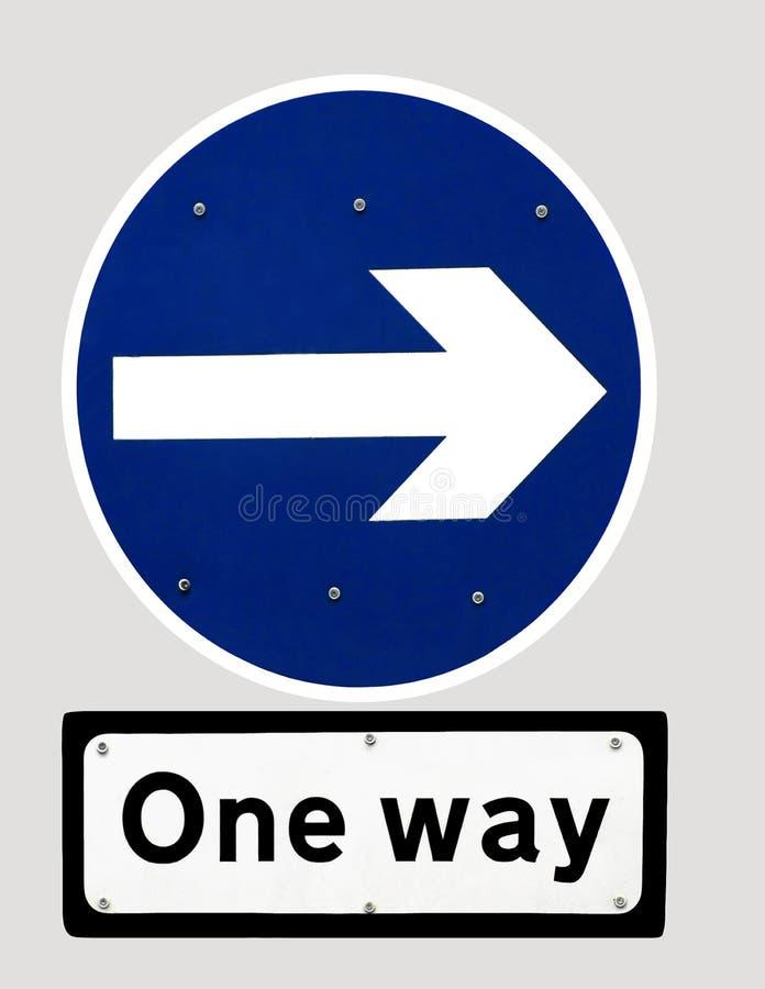 Download One Way stock illustration. Illustration of travel, sign - 20726