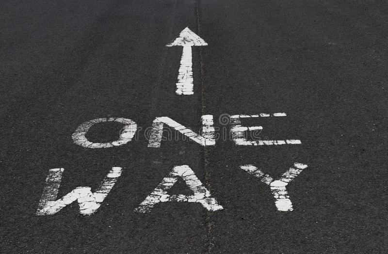 Download One way stock photo. Image of obey, limit, direction - 32231796