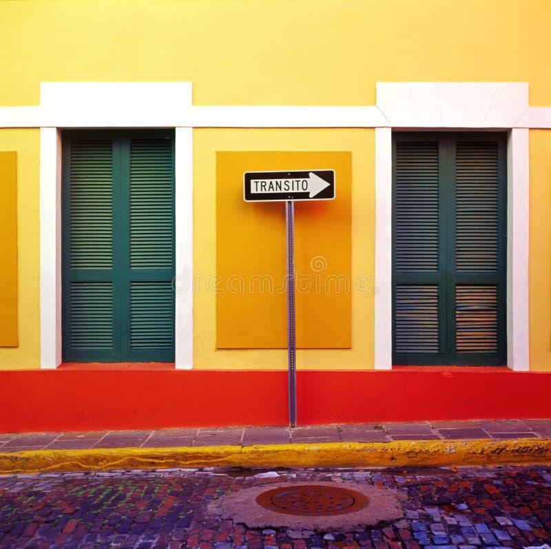 Free One Way San Juan Stock Photography - 1033922