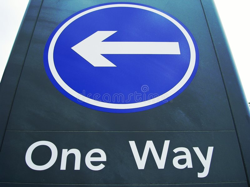 Download One Way Sign Stock Images - Image: 1994