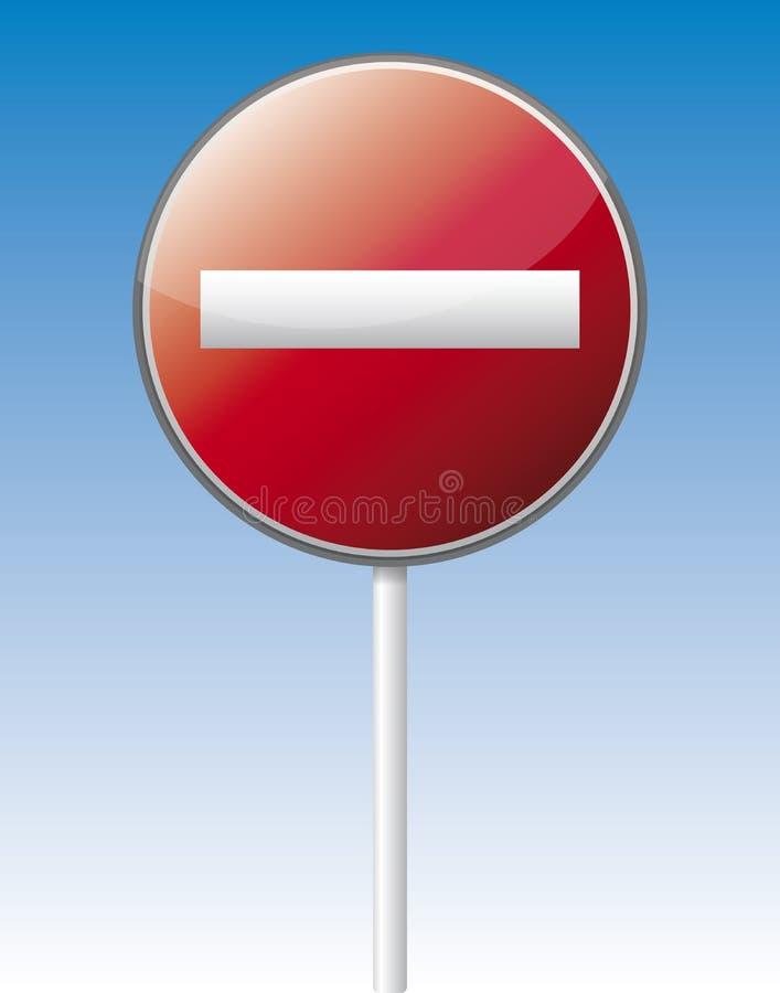 Free One Way Traffic Board Stock Image - 32383911