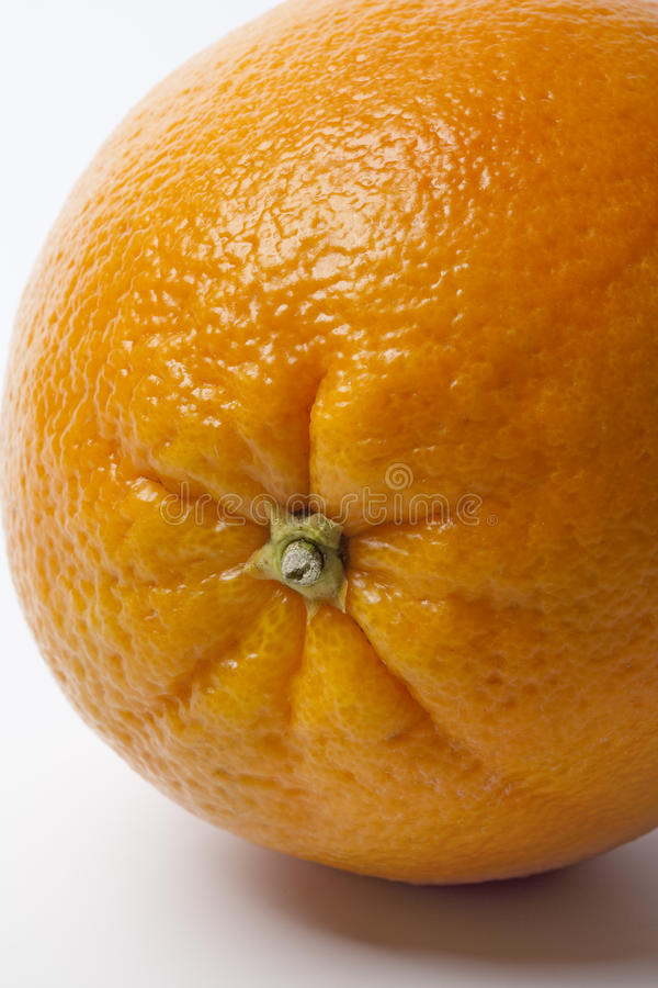 Download One whole single Orange stock photo. Image of vitamin - 12693898