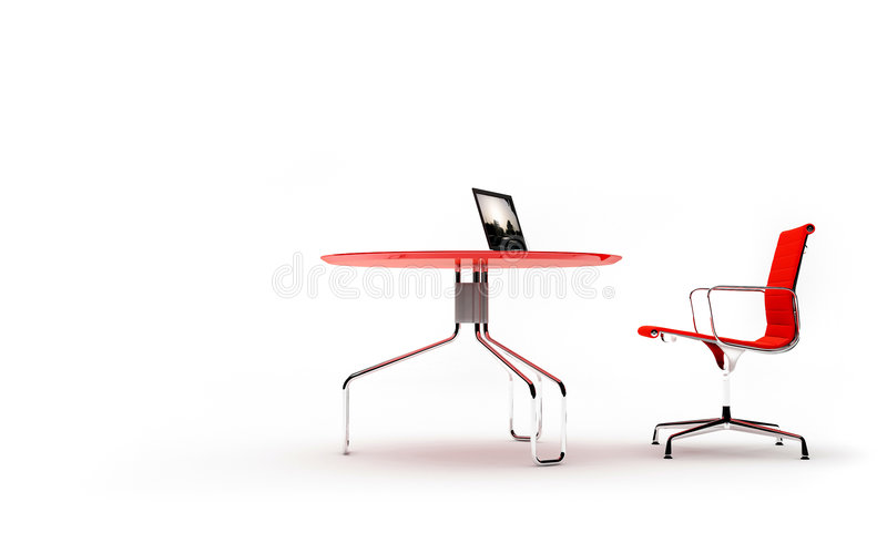 One work place royalty free stock images