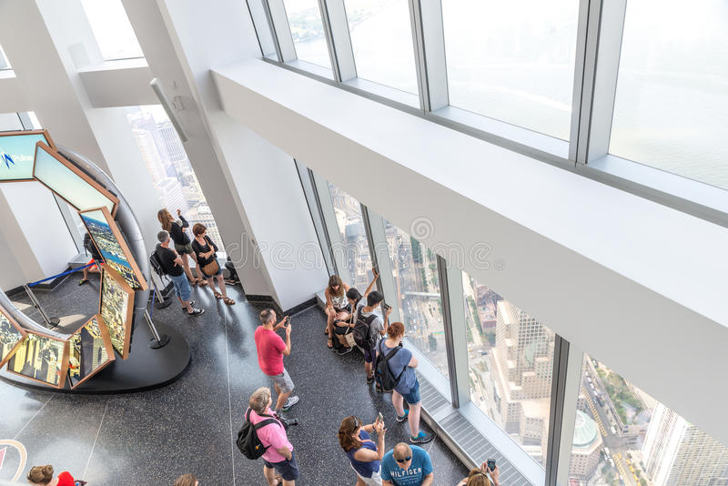 One World Observatory in New York royalty free stock photos