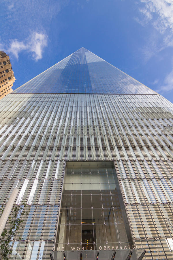 One World Observatory of New York World Trade Center stock image