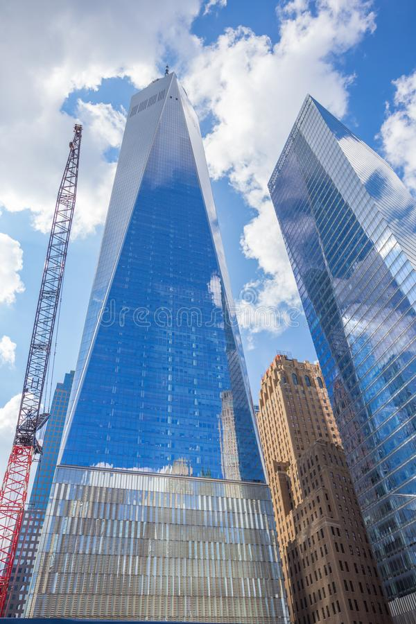 One World Trade Center New York City royalty free stock photography