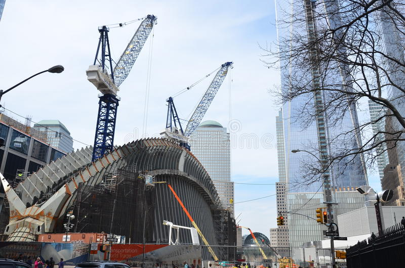 Download One World Trade Center Construction Editorial Stock Image - Image: 40065339