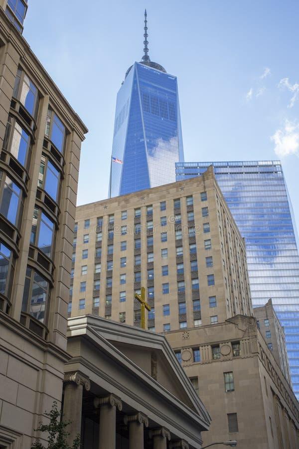 One World Trade Centre, New York royalty free stock photo
