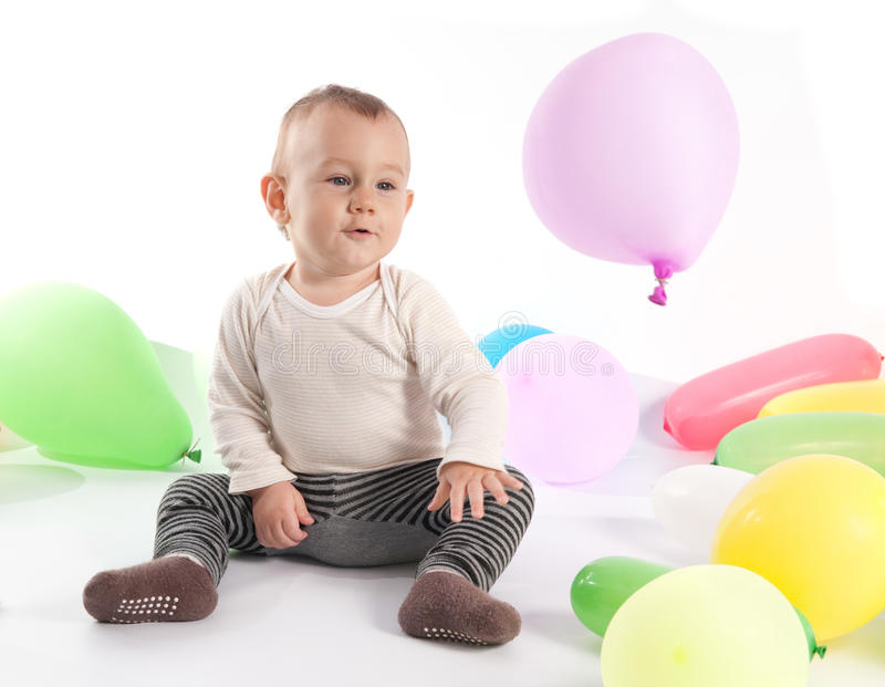 One year old stock photos