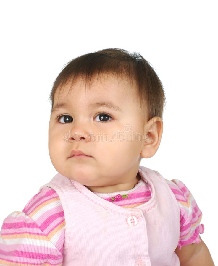 One-year-old Baby Girl Royalty Free Stock Photo