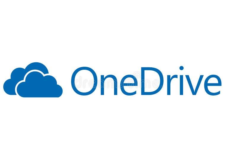 OneDrive logo ilustracji
