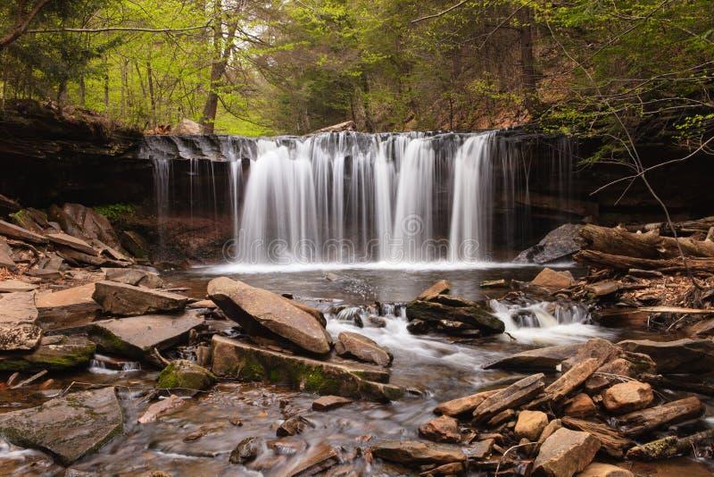 Oneida Falls, Ricketts Glen Pennsylvania photo stock